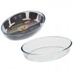 005562 Форма для запекания из боросил стекла CRISTALLINO (0.7л)