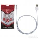 006370 Кабель Energy ET-01 USB/MicroUSB, серебро