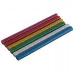 007586 Стержни клеевые цветные, с блестками, 0,7х10см, 6 шт