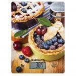 Весы кухонные SCARLETT SC-KS 57 P59 черничный пирог